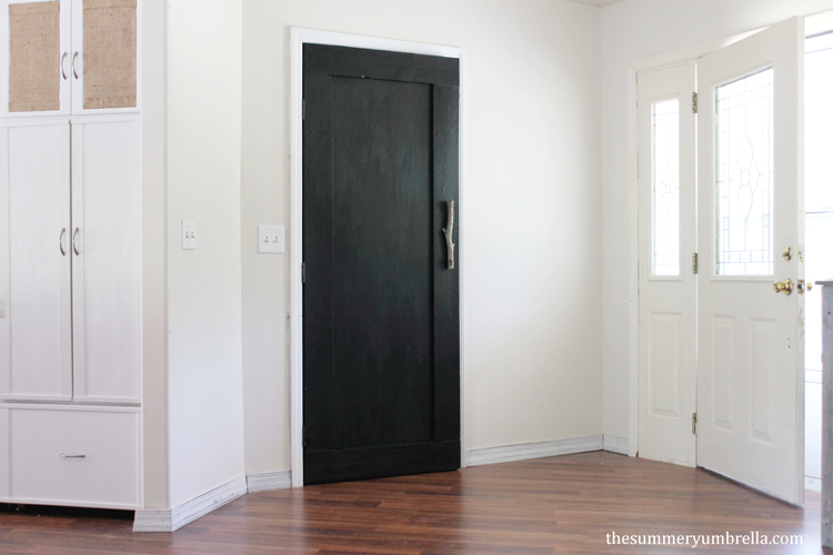 Create your very own DIY wood paneled door for your next project! All you need are a few simple tools and supplies.