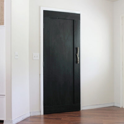 Create Your Own DIY Reclaimed Wood Paneled Door