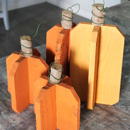 How to Make Rustic DIY Reclaimed Wood Pumpkins