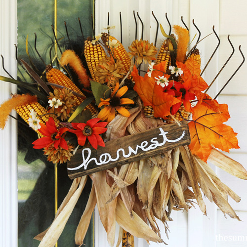 How to Create Your Own DIY Fall Rake Decor