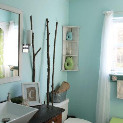 My DIY Guest Bathroom Reveal