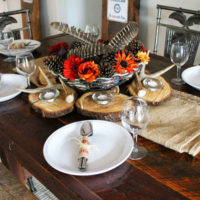 thanksgiving table decor diy