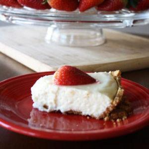 5 Ingredient Cheesecake