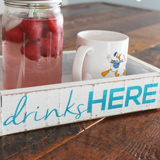 DIY Drink Tray