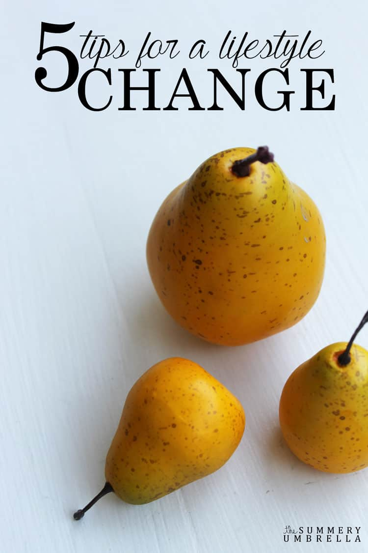 Are you feeling like you need a change in your life? Check out these 5 tips for a lifestyle change that will most definitely help you get back on track NOW!