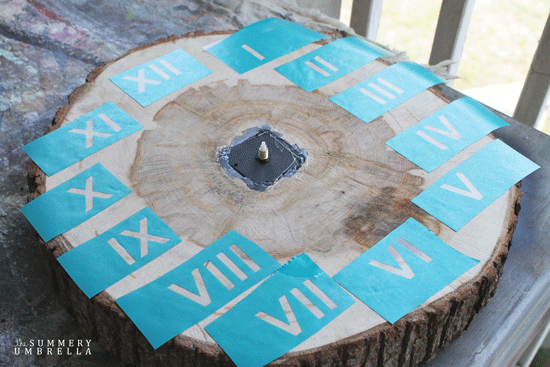 diy wooden clock plans