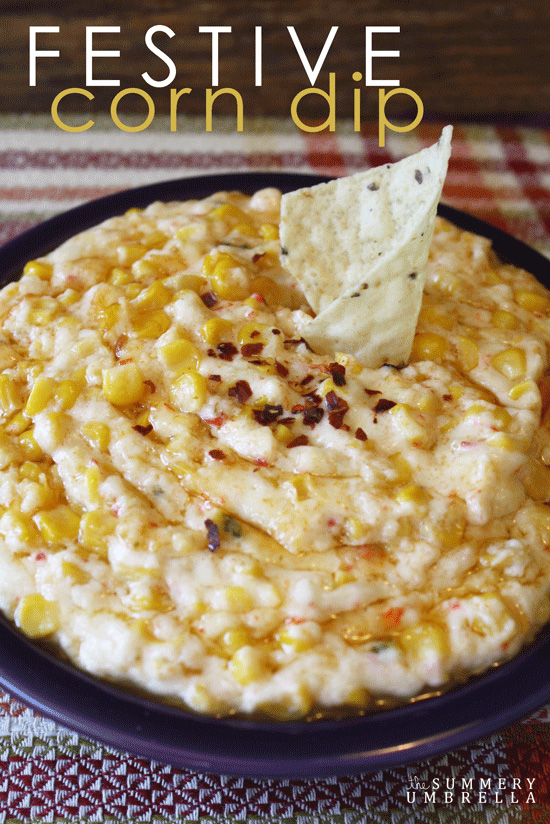 This yummy and festive corn dip recipe is sure to be a family favorite! Not only great for a cookouts, but also for every day snacks as well.