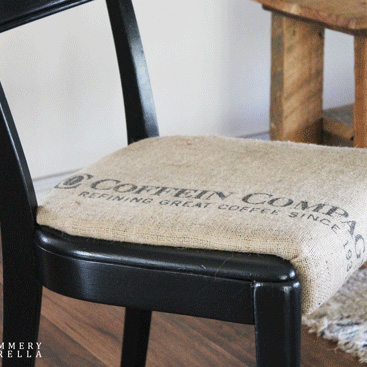 Upcycled Rustic and Modern Chair