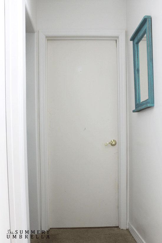 Awaken your boring doors black paint!
