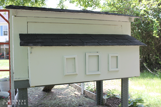 pretty chicken coop