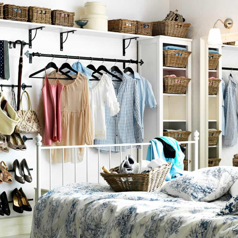 12 Amazingly Rustic Closets That Will Win Your Heart