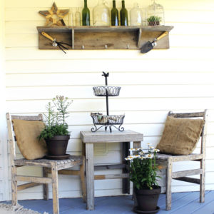 How to Create a Rustic Summer Front Porch