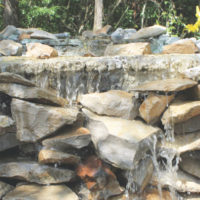 how to build a waterfall on a budget