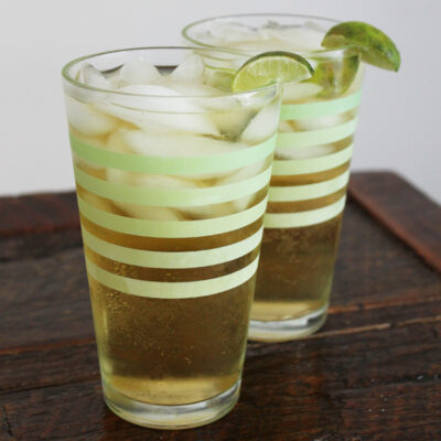 The Ultimate Dark and Stormy with Ginger Ale Recipe