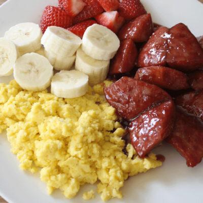 Super Simple Grape Breakfast Sausage Recipe