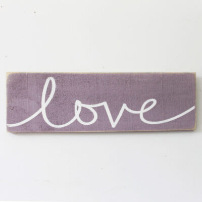 DIY Reclaimed Wood Love Sign PLUS Free SVG Cut File