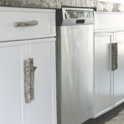 Unique and Rustic Kitchen Door Handles for a Farmhouse Look