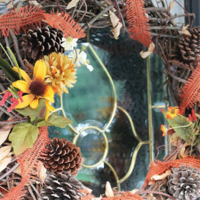 How to Create a Rustic Fall Wreath