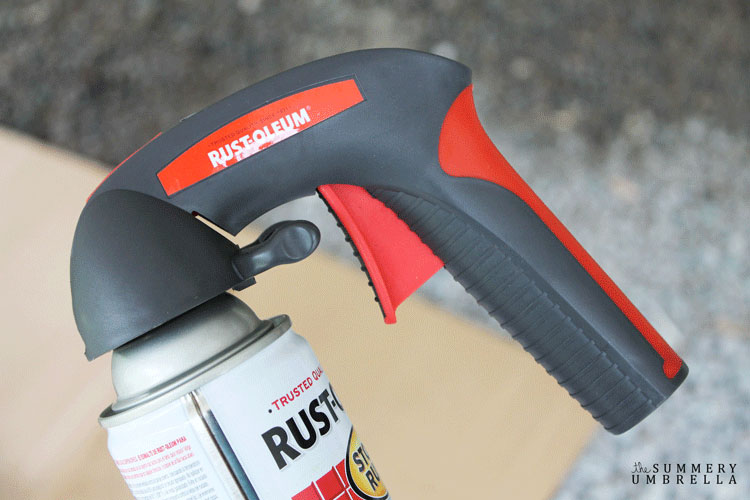 rustoleom spray paint comfort grip