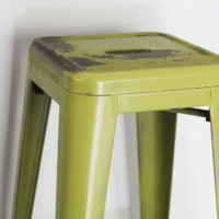 how to paint metal bar stools