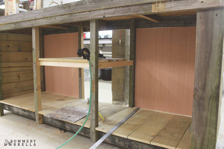 How To Build A Potting Bench With Reclaimed Wood