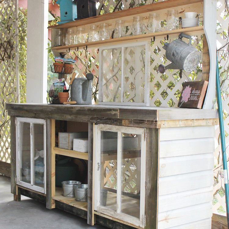 potting table ideas