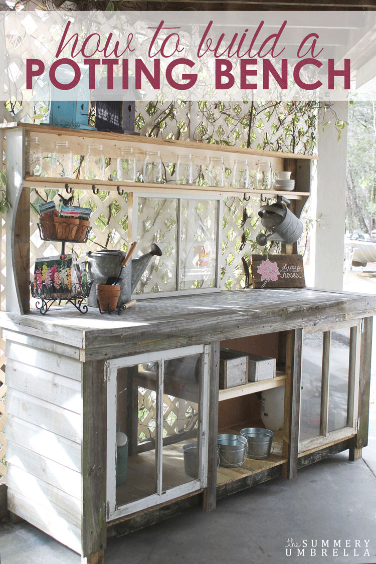 have you always wanted to create your own potting bench youu0027re in luck
