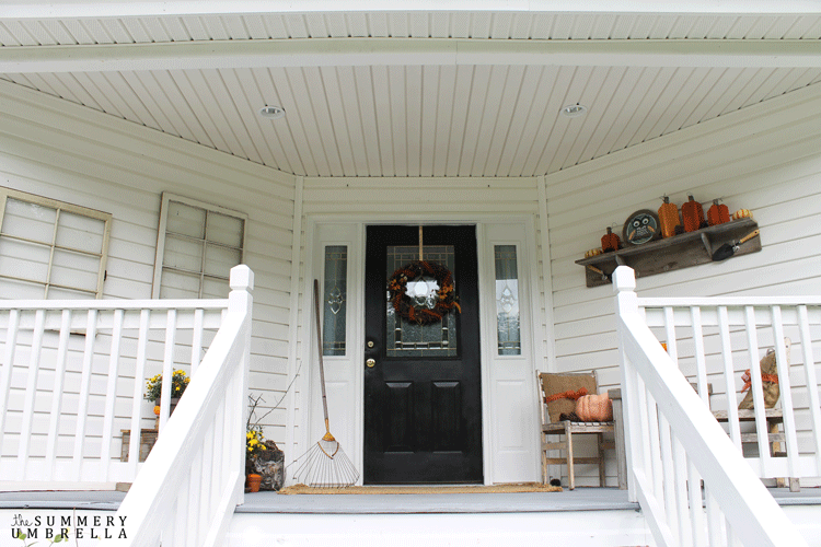 Creating a rustic fall porch is a piece of cake! Let me show you how you to transform your porch into an inviting display for the fall season.