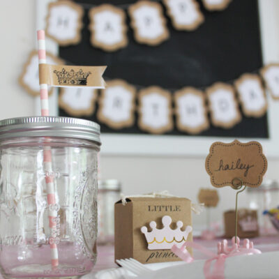 Rustic Little Princess Birthday Party
