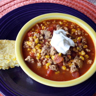 Simple and Spicy Taco Soup Recipe Your Family Will Love