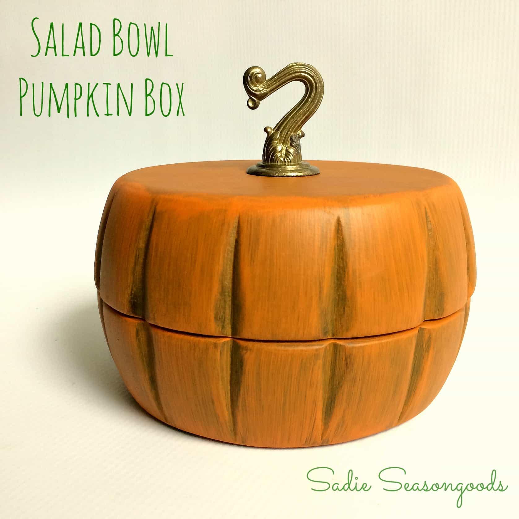 Sadie_Seasongoods_thrifted_wooden_salad_bowls_Pumpkin_trinket_box_for_Fall_Autumn_Decor
