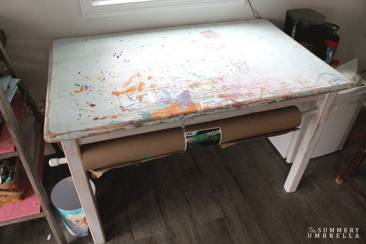learn how to paint furniture shabby chic