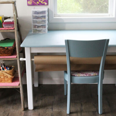 How to Paint Furniture with Minimal Prep Work