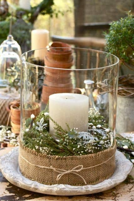 rustic christmas table decorations - Rustic Christmas Table Decorations