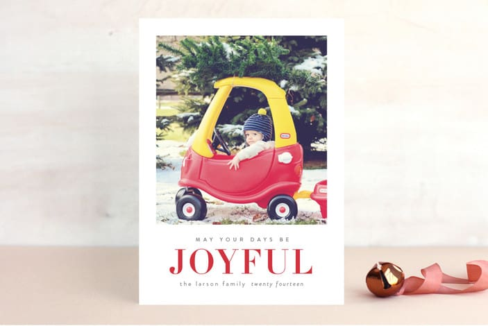 My Top 10 Favorite Holiday Cards are going to knock your socks off! They're just so many different options to pick from that you'll have a hard time picking just one!