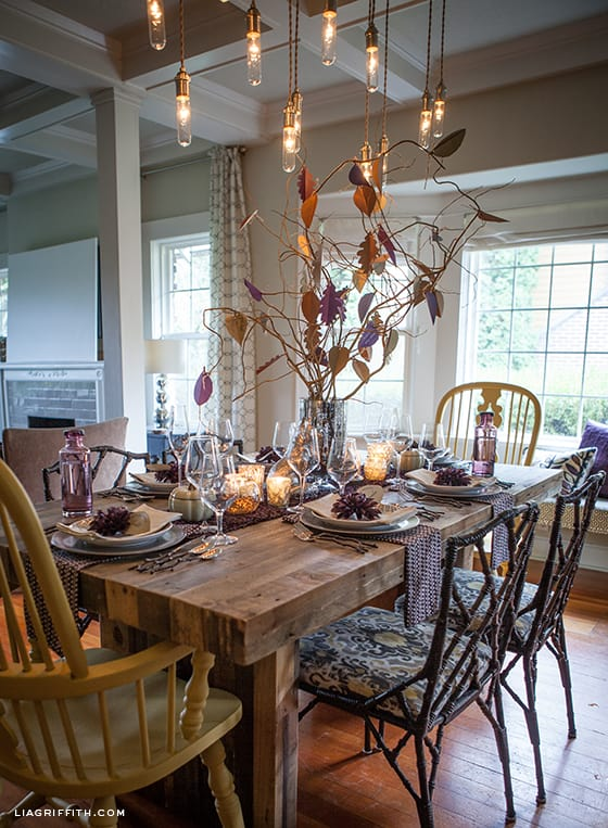 20 Rustic Thanksgiving Table Ideas That Will Make You Swoon