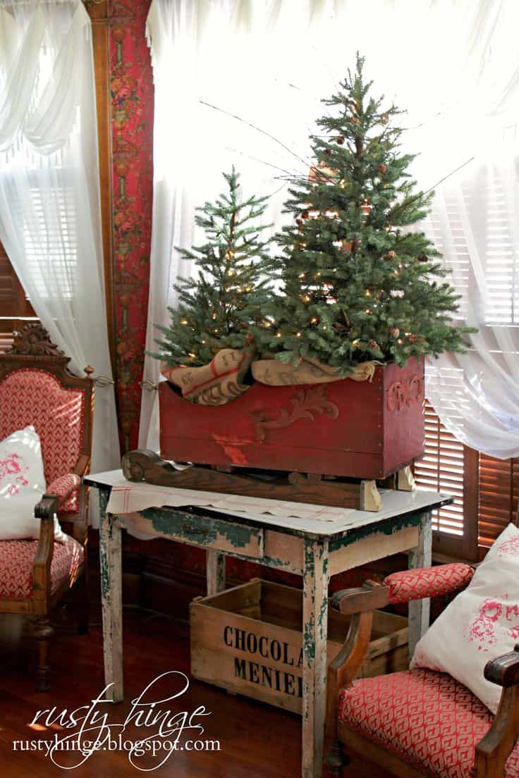 25 Rustic Diy Christmas Decorations You Ll Love To Create