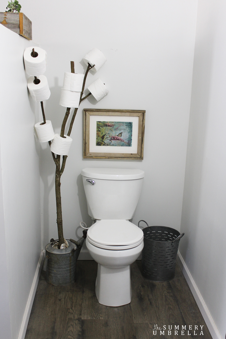 Rustic Bathroom Branch Toilet Paper Holder Lz Cathcart
