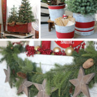 rustic diy christmas decorations