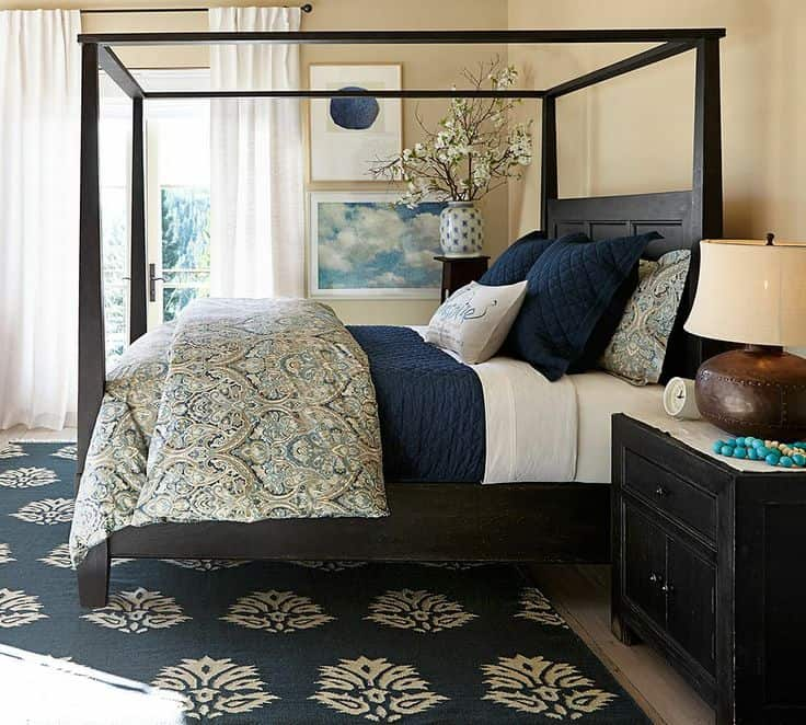Few of My Favorite Things--Navy Blue Bedrooms | LZ Cathcart