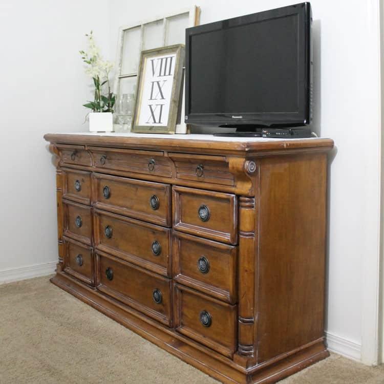 DIY Dresser Update