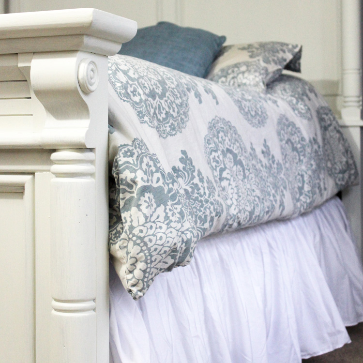 Get Between These Sheets –Next Step in Our Master Bedroom Makeover