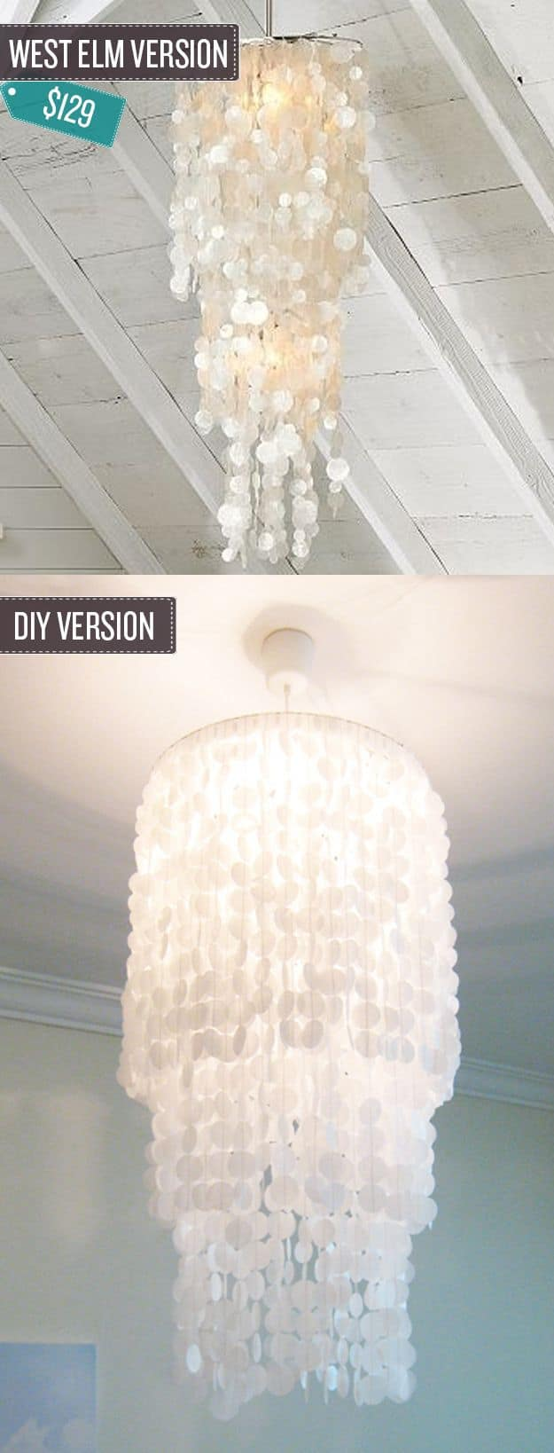 Searching for a DIY lighting idea for your bedroom? Then you'll definitely WANT to stop on by to check out these beauties! MUST PIN!