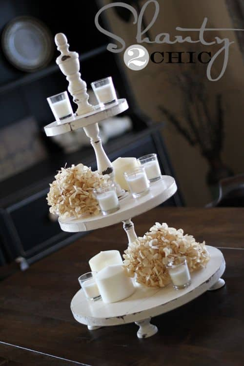 farmhouse Cake Stand Ideas