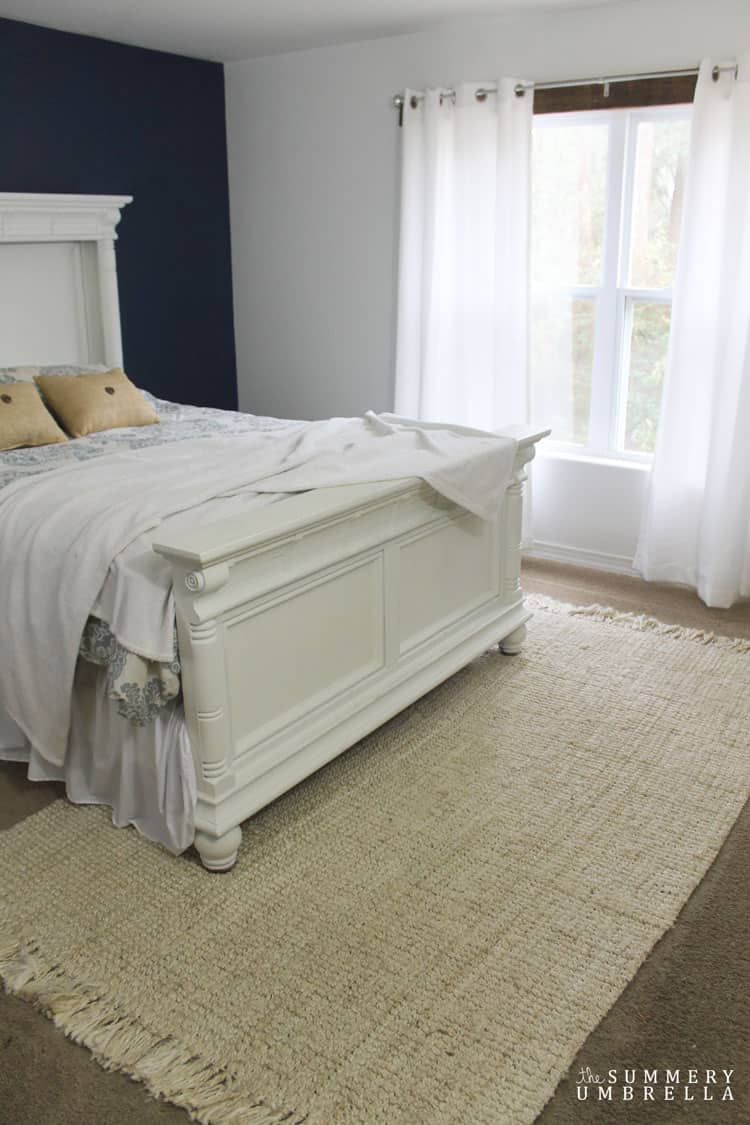 Slowly but surely I'm finishing up our master bedroom design and providing a few tips and tricks for your own design needs!