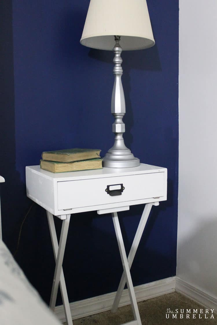 nightstand bedside design mirrored furniture dresser pottery stands night barn park table barns royal drawer