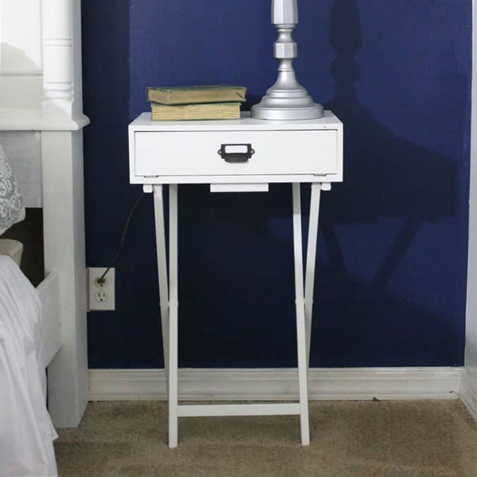 pottery barn inspired diy nightstand