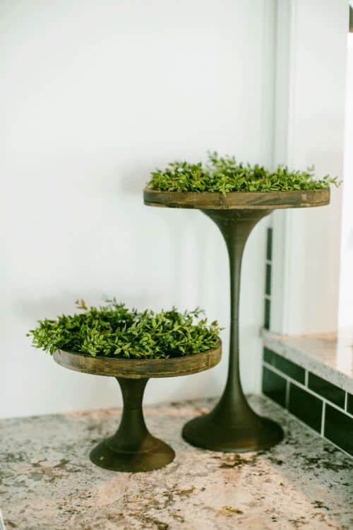 industrial Cake Stand Ideas