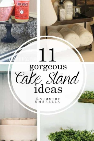 Top 11 Gorgeous Cake Stand Ideas