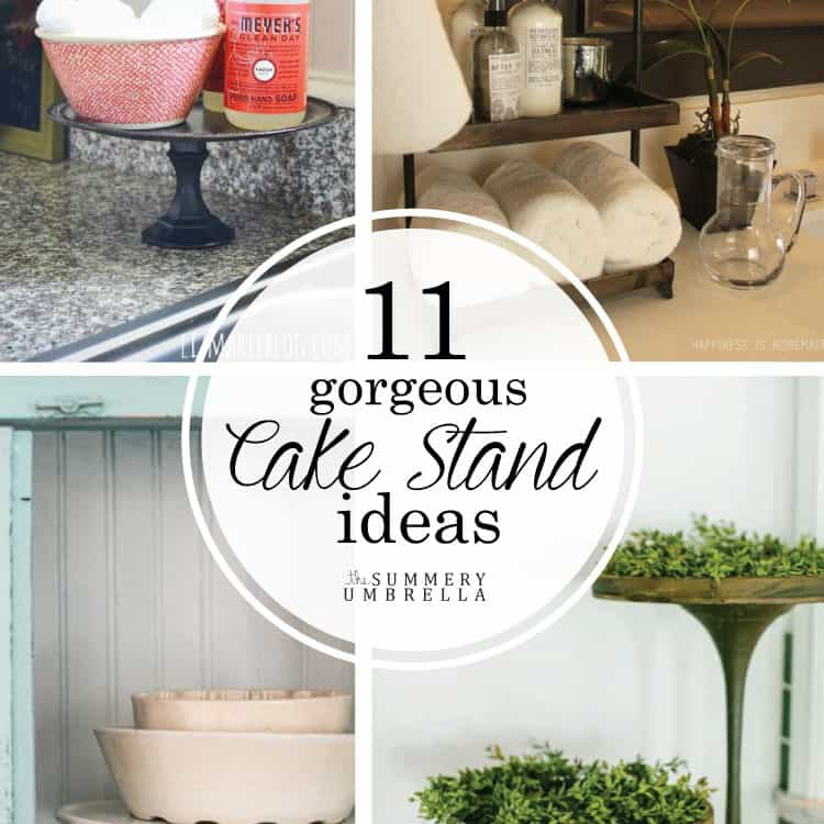 11 Gorgeous Cake Stand Ideas That'll Keep You Inspired